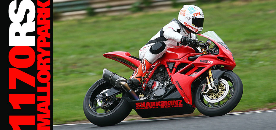 Darren Fry 848 Challenge Champion 2010: RS Test @ Mallory Park, UK